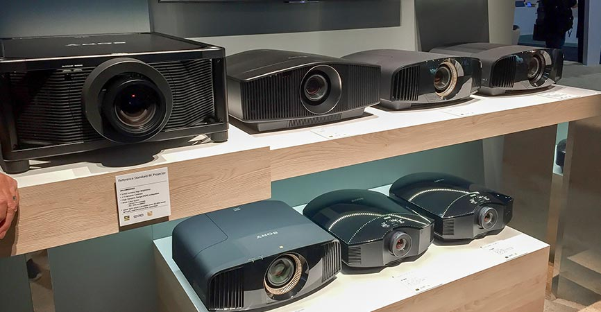 Sony Unveils New 4K Home Theater Projectors | Tym