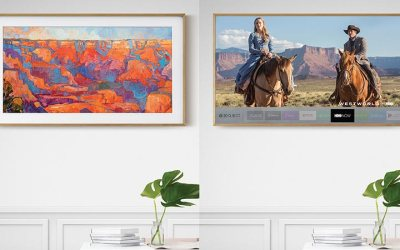 """Samsung's """"The Frame"""" Brings Digital Art Into The Home"""