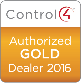 Control4 Authorized GOLD Dealer 2016