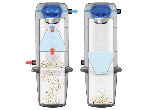 Utah BEAM Vacuum Technology Self Cleaning Filter