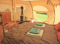 Luxury Glamping Tents in North Wales - Tyn Cornel Camping