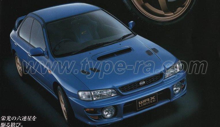 Impreza WRX Type RA Limited