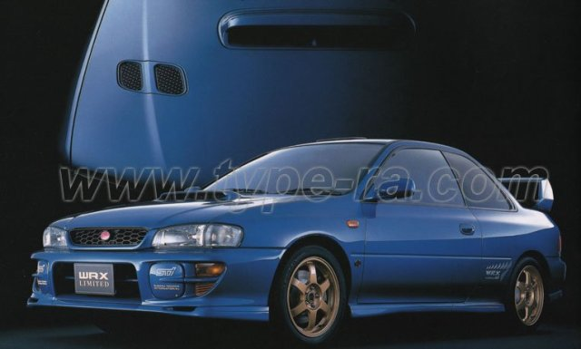 MY99 Impreza WRX Type R STi V6 Limited