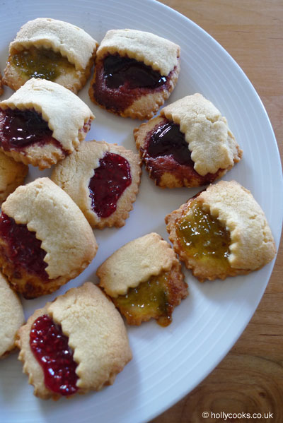 grown up jam tarts