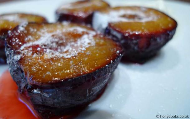 Holly-cooks-plums-with-sugar-and-spice-800