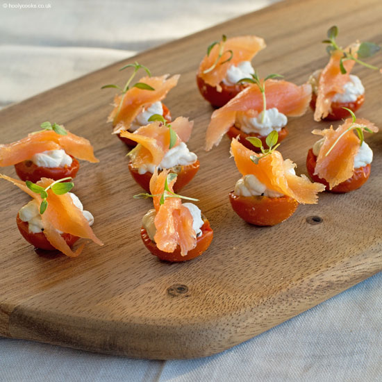 Holly-cooks-Moonblush-tomato-and-smoked-salmon-canape-portrait-on-board