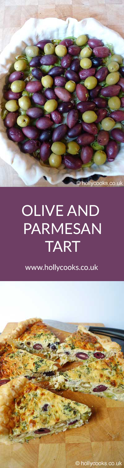 Holly-cooks-olive-and-parmesan-tart-pinterest