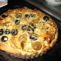 Richard-Pepys'-olive-and-parmesan-tart
