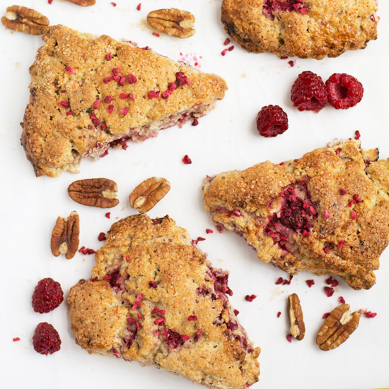 Holly-Cooks Raspberry and pecan scones 550v3