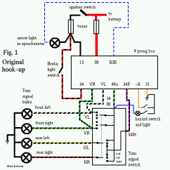 Vw Beetle Wiring Diagram 1966 Lighting Contactor Photocell Emergency Flasher Five Designenvy Co 9 Prong Box Troubleshooting And Replacement Rh Type2 Com Led Mustang