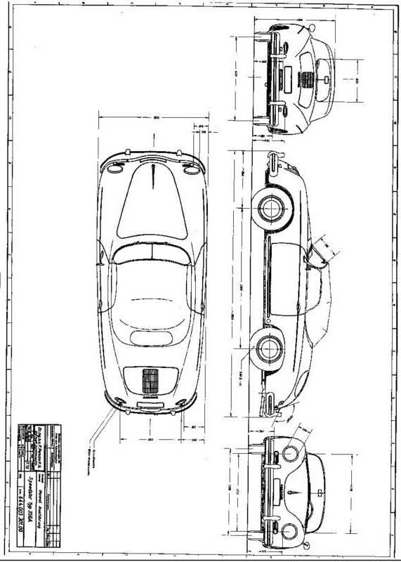 Porsche 356A Fuel Pump