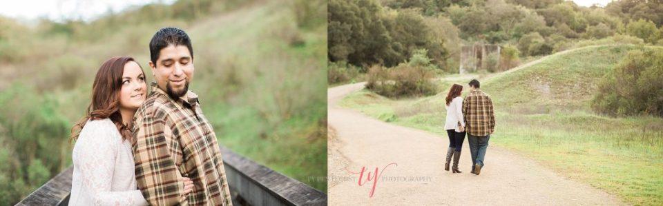 Almaden Quicksilver Park engagement pictures