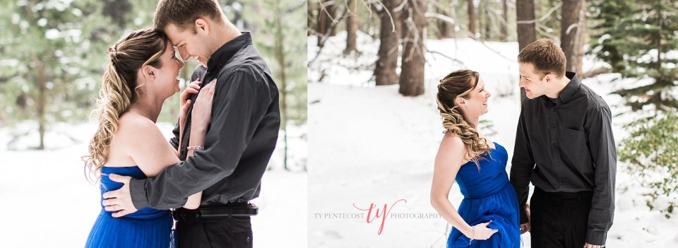 Trukee Engagement pictures