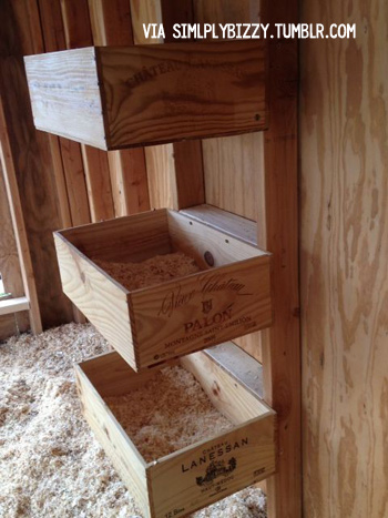 DIY Nesting Boxes Ideas