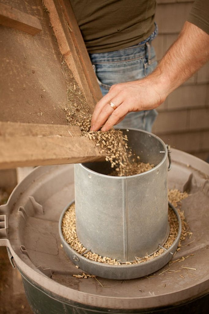 DIY Chicken Feeder