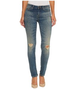 Skinny Jeans in tinted dust wash