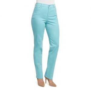 Tapered Jeans Garment Dyed Sea Spray