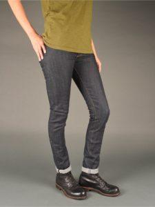 womens raw denim skinny jeans