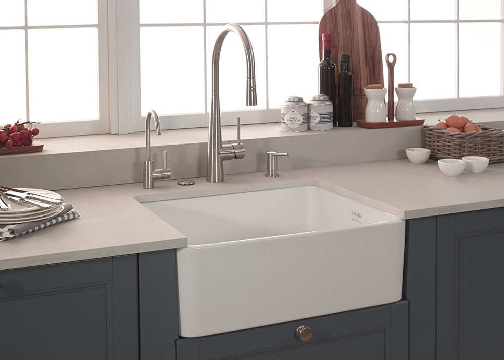 apron front kitchen sinks commercial trash can types of • read this before you buy