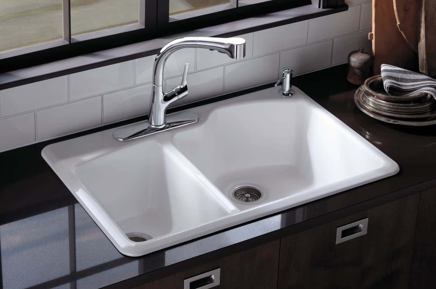 different kinds of kitchen sinks high end cabinets brands types  read this before you buy