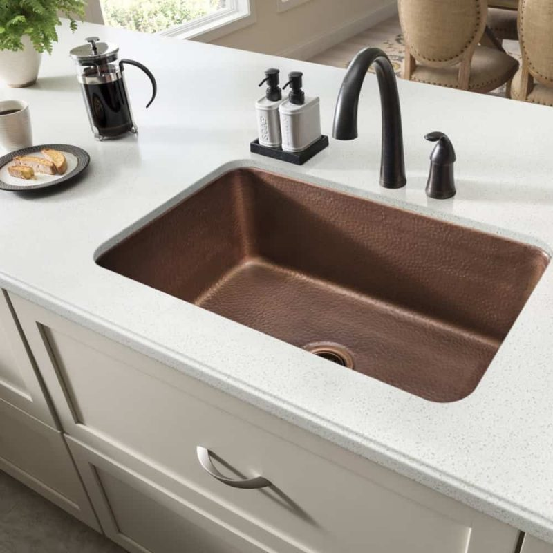 30 kitchen sink medallion cabinets types of sinks read this before you buy sinkology orwell undermount copper model sk202 30ac
