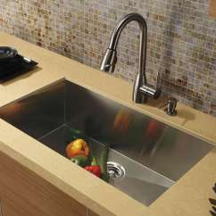 Single Sink Kitchen Aid Silver Stainless Steel Sinks Buyer S Guide Design Ideas Pictures Modern From Vigo