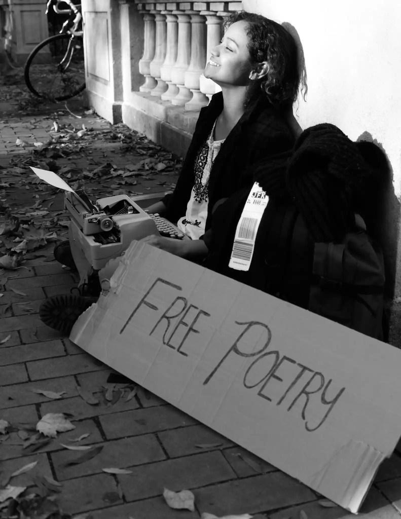 Typewriter Poetry Billimarie Free Poetry Philadelphia Rittenhouse Square 2014
