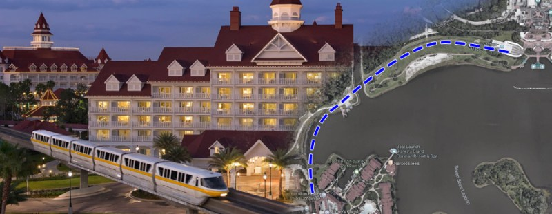 Grand Floridian Adding Exclusive Monorail Line