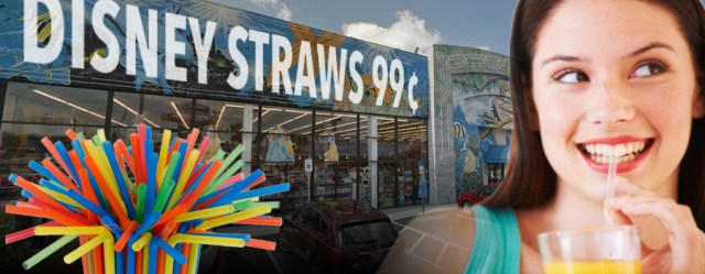 Bootleg Plastic Disney Straws Selling Illegally Off Property