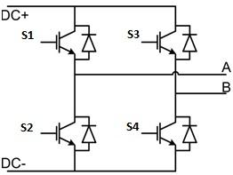 Single-phase two-level inverter