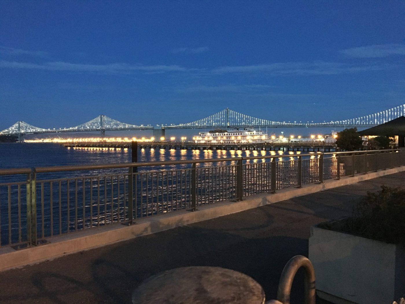 bay bridge san francisco walking tour baby