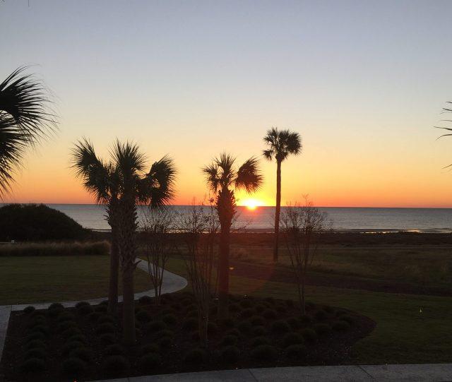 Sunsets at Jekyll Island