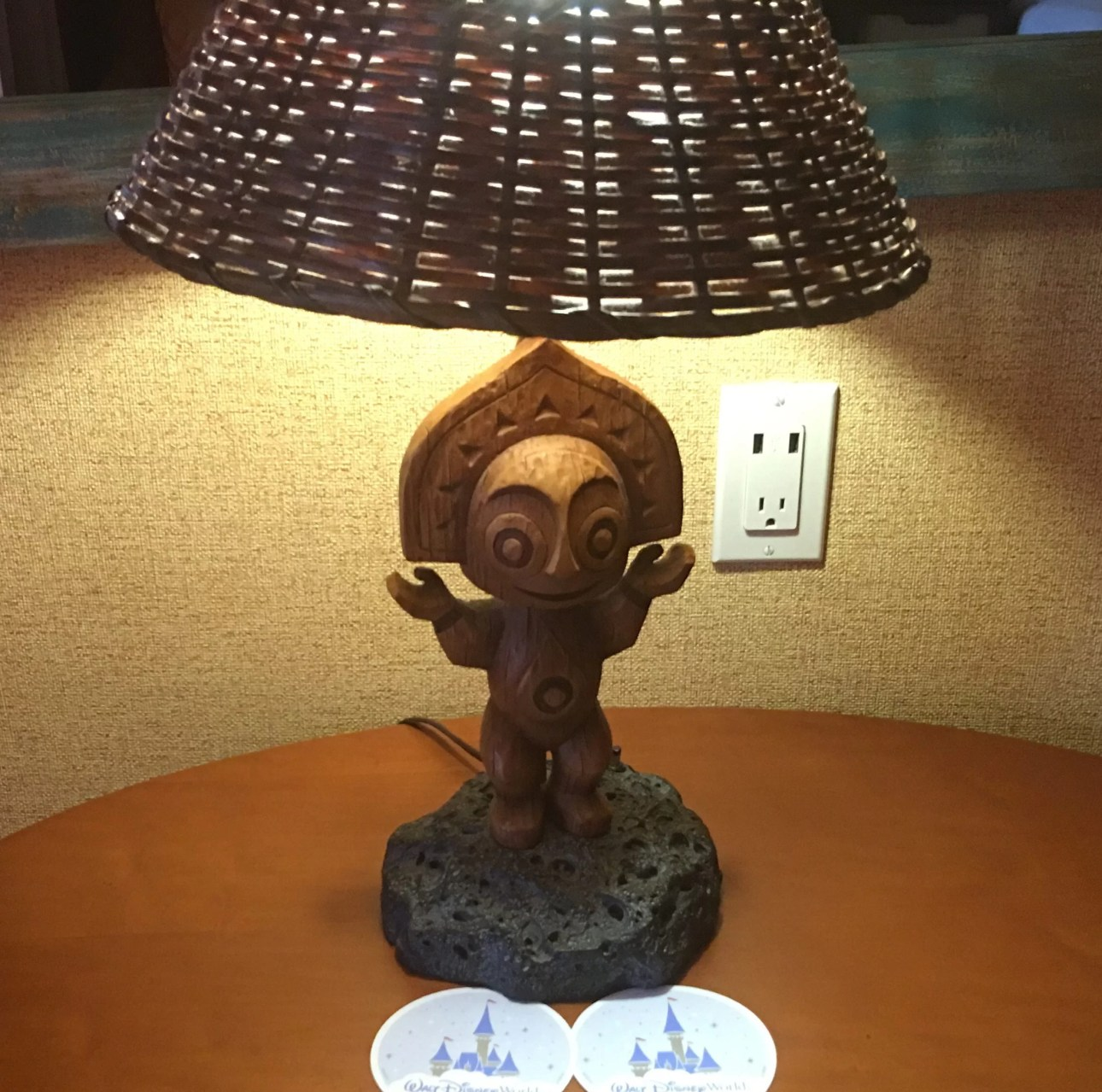 Polynesian Resort lamp