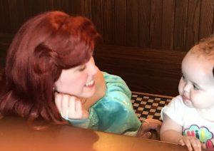 Ariel, trattoria al forno breakfast, Disney