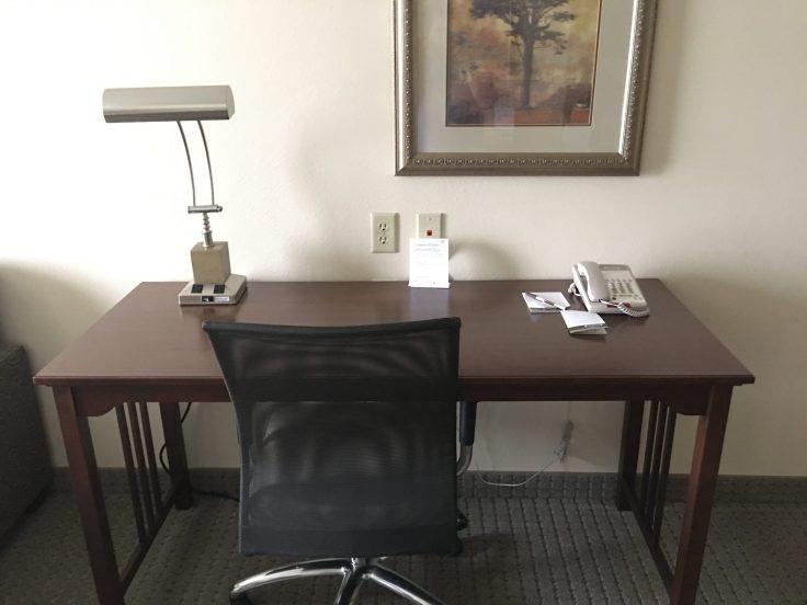 Staybridge Suites Stow Ohio Review Desk