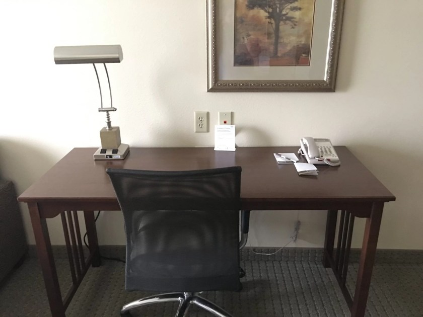 Staybridge Suites Stow Ohio Review Desk