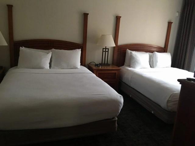 Staybridge Suites Cherry Creek Two double beds room