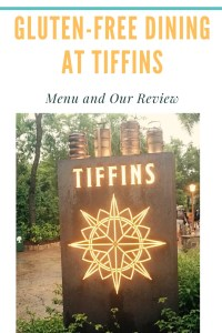 Gluten-free Dining at Tiffins