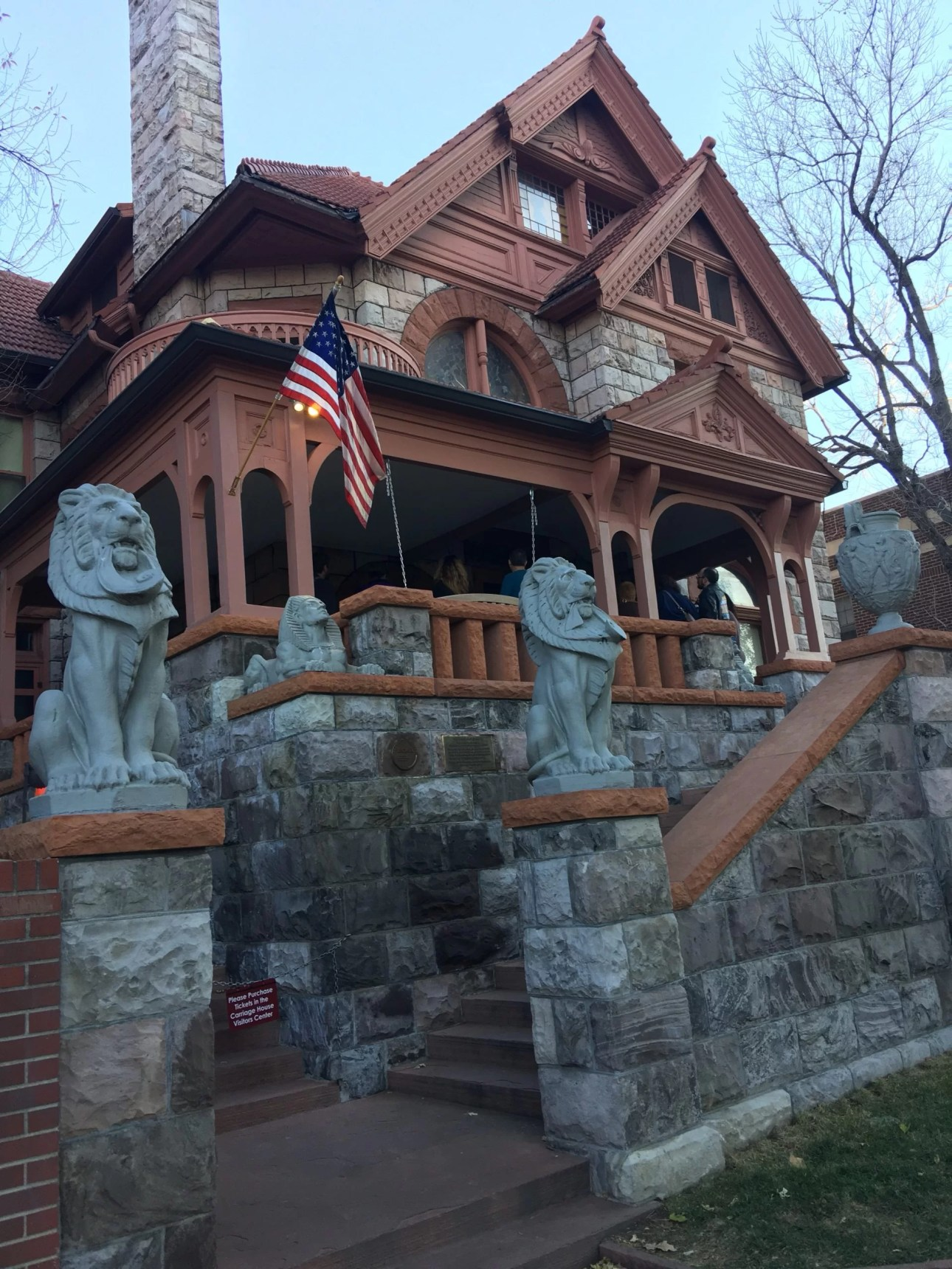 Exterior Molly Brown house in Denver