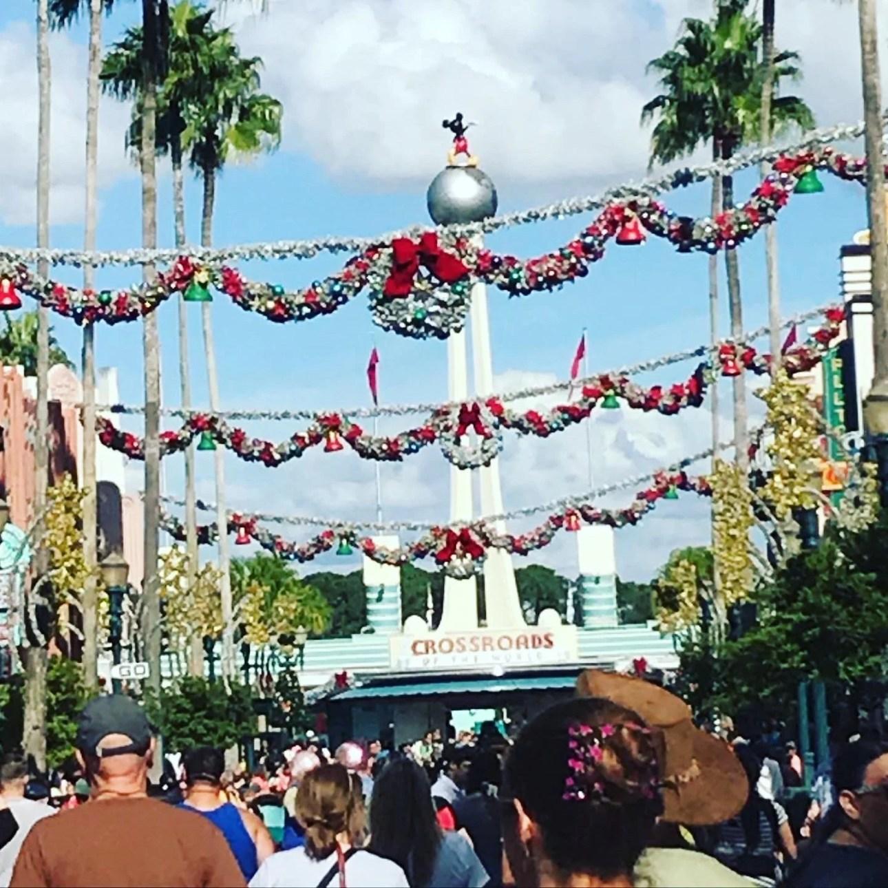 Hollywood studios Christmas in Walt Disney World