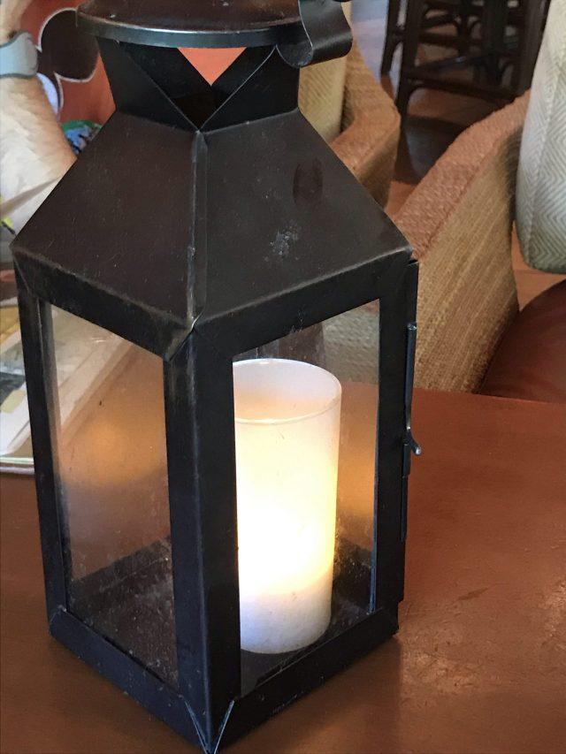 Nomad Lounge lantern