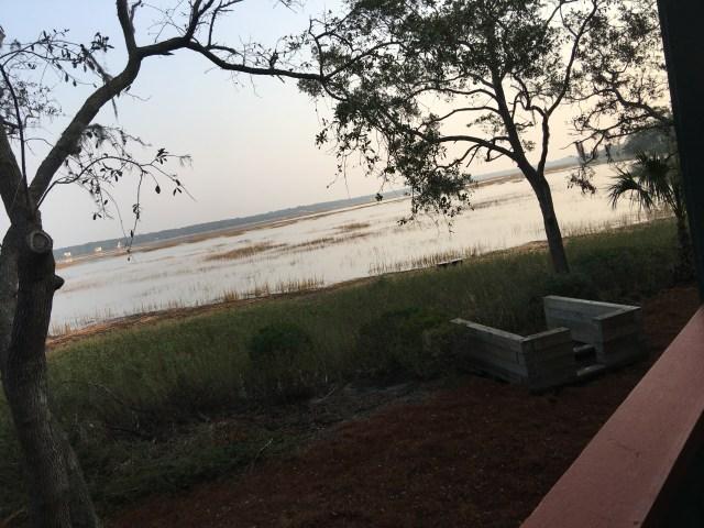 Marsh view in Hilton Head from Disney's Resort