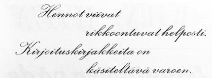 Kuva 26: Kirjoituskirjaimet