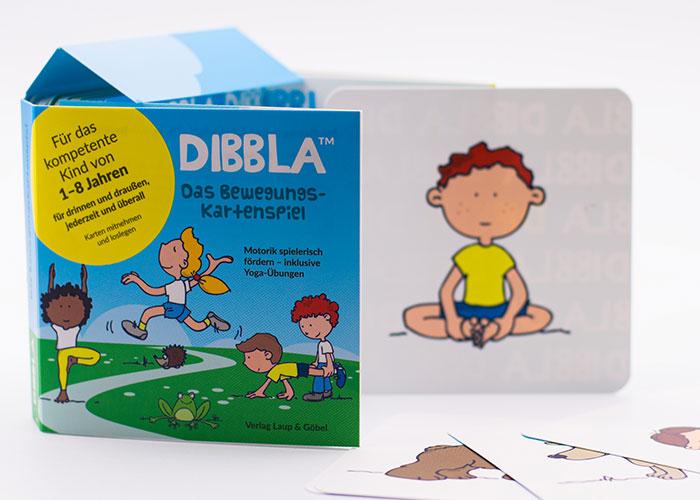 DIBBLA – das Bewegungskartenspiel für Kinder