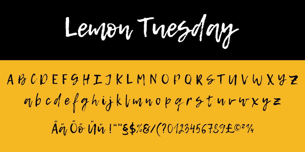 Lemon Tuesday