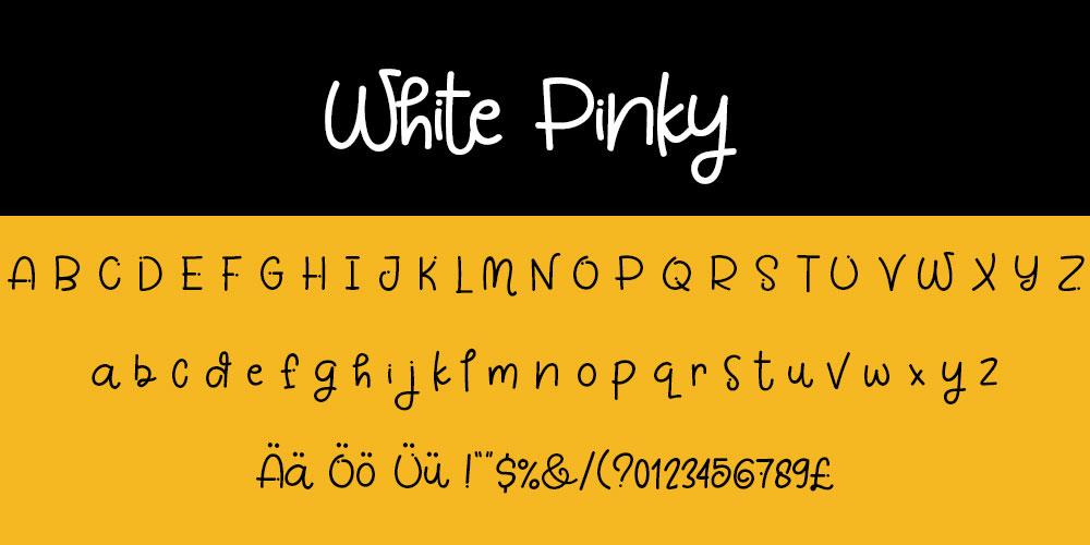White Pinky