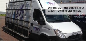 MOT and service for your class 7 commercial vehicle
