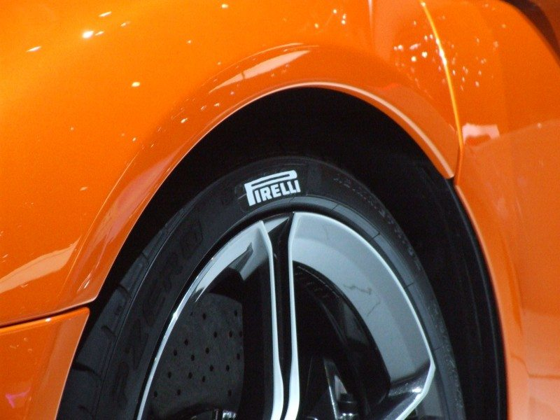 Pirelli tyres were noticeable on a number of high class products launched in Geneva, not least the elite McLaren 650S