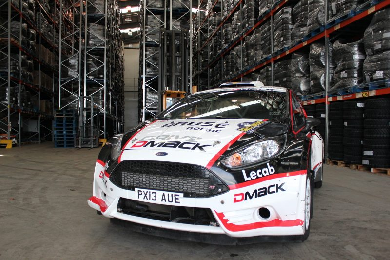 The Drive DMACK Fiesta Trophy rally car will be driven by 12 aspirant young competitors at five rounds of the WRC 2014