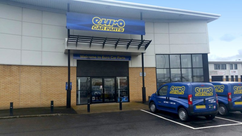 Euro Car Parts' new Londonderry branch